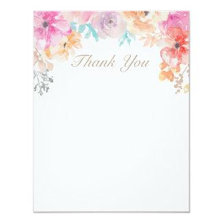 Elegant Spring Girly Flowers Custom Card