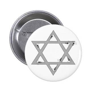 elegant star of david button