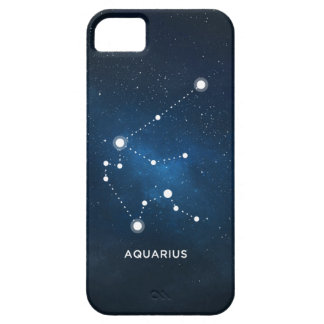 ELEGANT STARRY BLUE WATERCOLOR UNIVERSE - AQUARIUS iPhone SE/5/5s CASE