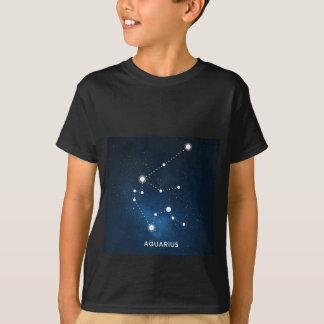 ELEGANT STARRY BLUE WATERCOLOR UNIVERSE - AQUARIUS T-Shirt
