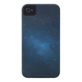 ELEGANT STARRY BLUE WATERCOLOR UNIVERSE Case-Mate iPhone 4 CASE