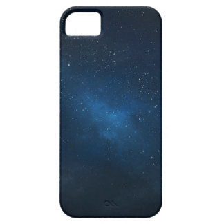ELEGANT STARRY BLUE WATERCOLOR UNIVERSE iPhone SE/5/5s CASE