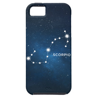 ELEGANT STARRY BLUE WATERCOLOR UNIVERSE - SCORPIO iPhone SE/5/5s CASE