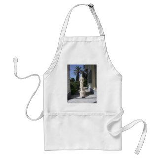 Elegant statue adult apron