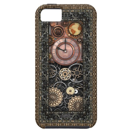 Elegant Steampunk #2 iPhone SE/5/5s Case