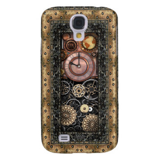 Elegant Steampunk Galaxy S4 Covers