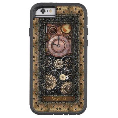 Elegant Steampunk Customizable Tough Xtreme iPhone 6 Case