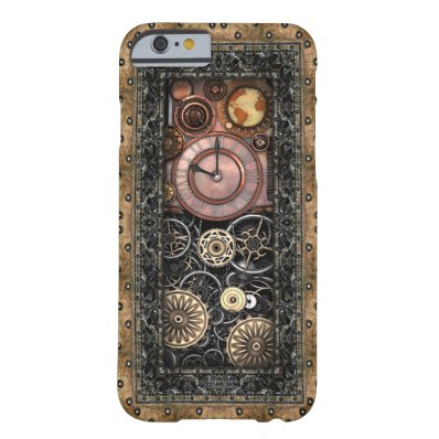 Elegant Steampunk iPhone 6/6S Barely There iPhone 6 Case