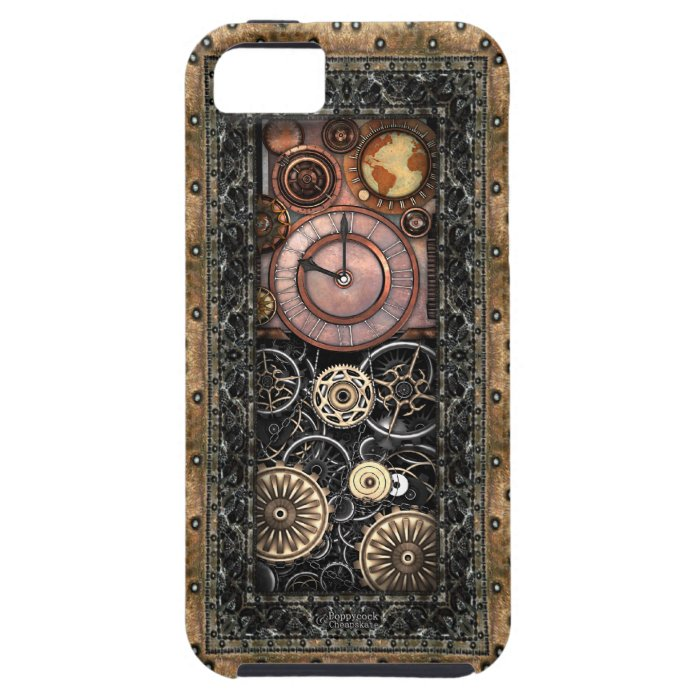 Elegant Steampunk iPhone SE/5/5s Case