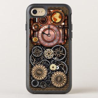 Elegant Steampunk Vintage Timepiece OtterBox Symmetry iPhone 7 Case