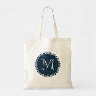 Elegant stock market in dark target of monograma b tote bag