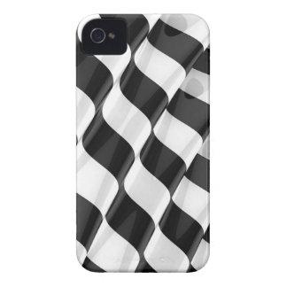 Elegant Striped Ripple iPhone 4 Cover