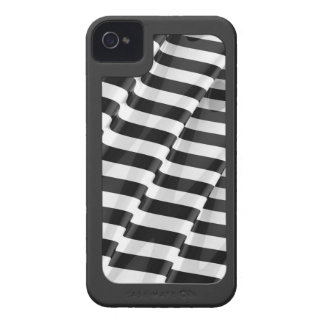 Elegant Striped Ripple with surround Case-Mate iPhone 4 Case