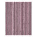 Elegant Striped Scrapbook Paper - gray and pink Letterhead