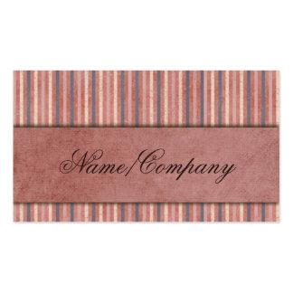 Elegant Stripes Business Cards