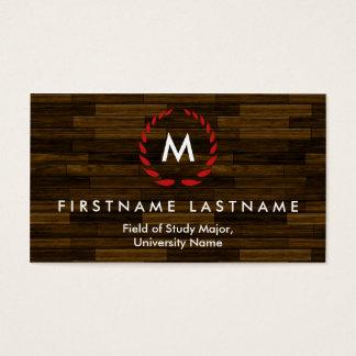 Elegant Student Business Cards