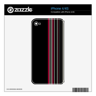 Elegant style decal for the iPhone 4S