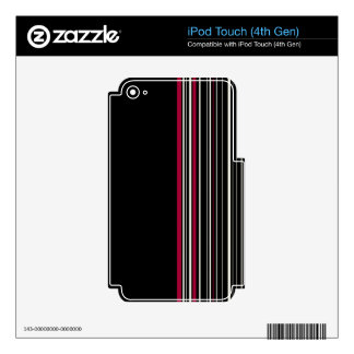 Elegant style iPod touch 4G decals