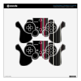 Elegant style PS3 controller decals