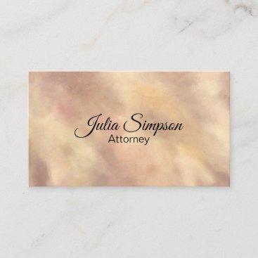 Elegant, Stylish, Colorful, Pastel Business Card