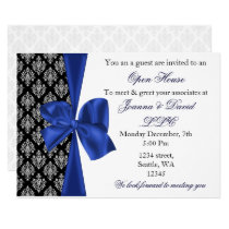 elegant stylish navy Corporate Invitation
