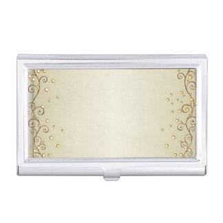 Elegant Stylish Proffesional- Gold- Business Card Case