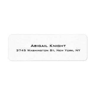 Elegant Stylish Trendy Unique Special Professional Label
