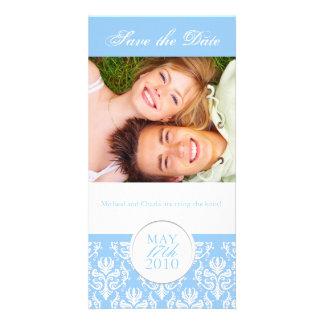 Elegant Summer Save the Date Photocard Card