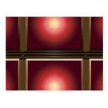 Elegant SUN Light Shade Pattern Postcard