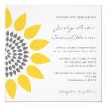 Elegant Sunflower Wedding Invitations