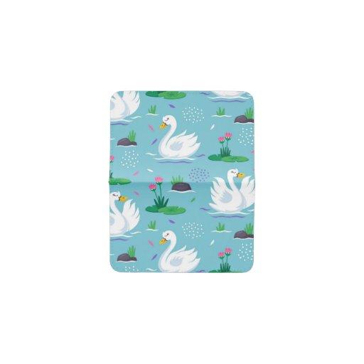 Elegant Swan Pattern Card Holder