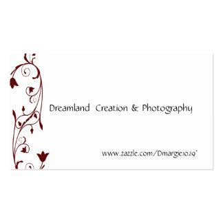 Elegant Swirl Business Cards Template