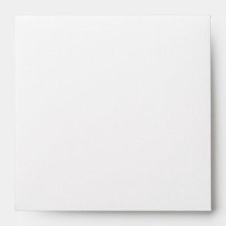 Elegant Swirl Square Custom Envelope