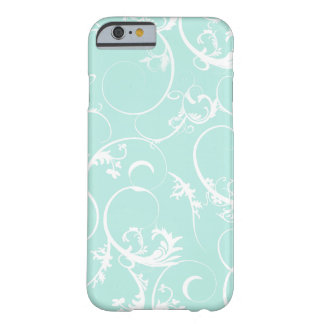 Elegant Swirls Barely There iPhone 6 Case