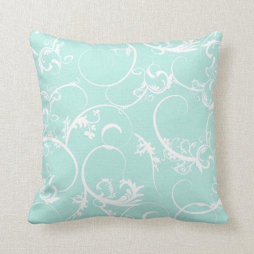 Elegant Swirls Pillow