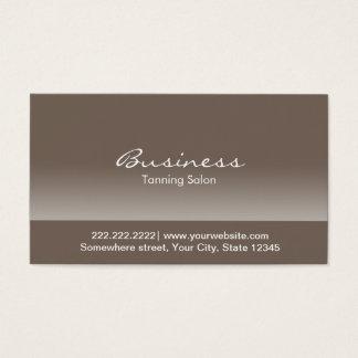 Elegant Tanning Salon Business Card
