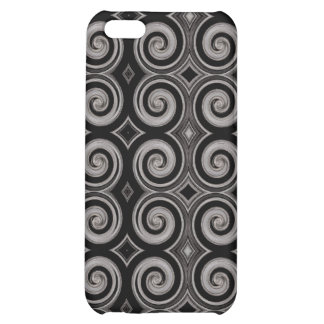 Elegant Taupe Swirls iPhone 5C Cover