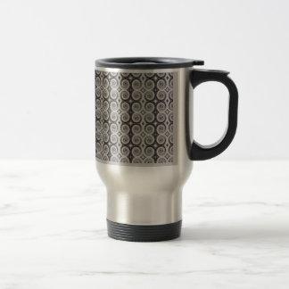 Elegant Taupe Swirls Mugs