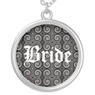 Elegant Taupe Swirls (Wedding) Jewelry