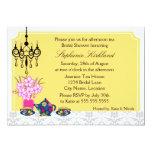 Elegant Tea Party Invitation