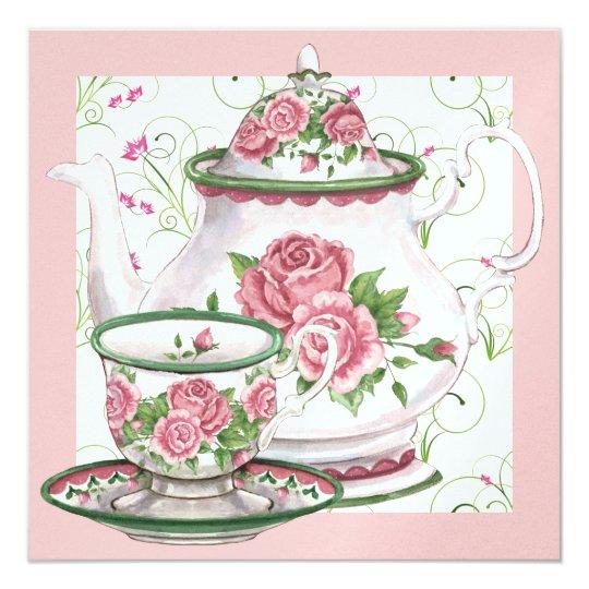 Elegant Tea Party - SRF Card