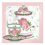 Elegant Tea Party - SRF Invitations