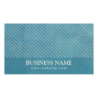 Elegant Teal Blue Math Tutor Business Card
