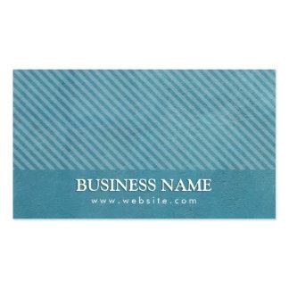 Elegant Teal Blue Storyteller Business Card
