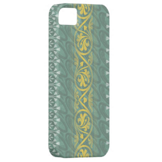 Elegant Teal Butter Damask Case-Mate iPhone 5 iPhone 5 Cover