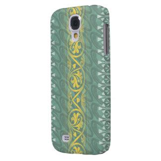 Elegant Teal Butter Damask HTC Vivid Tough Samsung Galaxy S4 Cover