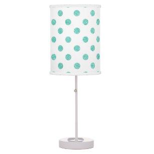 Polka Dots Table Amp Pendant Lamps Zazzle