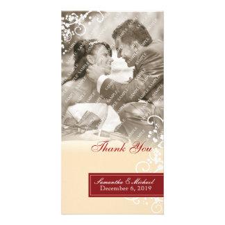 Elegant Thank You Photo Cards