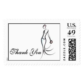 Elegant Thank You Postage