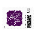 Elegant Thank You Postage